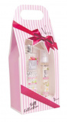 NANI Gift Box + bath water body pink / jasmine pepper