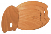 Mabef OVAL m400160 Palette Wood 30 x 40 x 0.4 cm