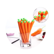 Sansee Carrot Creative Cute School Ballpoint Pen Gel Student Office Stationery Gifts