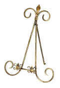 Deco 79 Metal Easel H-26426, Gold, 30cm