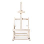 west5products Pine Adjustable Desk Table Top Easel Wooden Artist Tripod H56cm