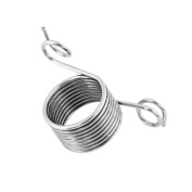 1 pcs Practical Stainless Yarn Guide Metal Norwegian Knitting Thimber Knitting Crafts Accessories Tool