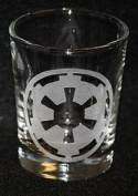 Empire Star Wars Inspired Logo Shot Glass Laser Engraved