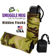 BoozeBrella by Smuggle Mug, Umbrella Flask w/ Lid Seals