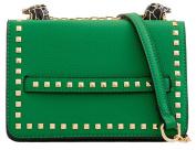 Girly HandBags Studded Crossbody Bag