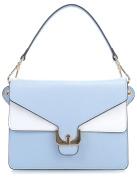 Coccinelle Ambrine Soft Shoulder Bag light blue