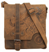 LandLeder Messenger Bag, brown (Brown) - 1725-25