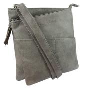 Jennifer Jones - präsentiert von ekavale® Women's Cross-Body Bag Light Grey