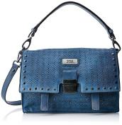 XTI 85936, Women's Messenger Bag, Blue (Jeans), 29x22x11 cm