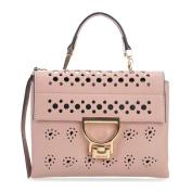 Coccinelle Arlettis Cachemire Foro Shoulder Bag antique pink