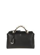 Fendi Women's 8BL124A0ZXF0GXN Black Leather Handbag
