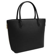 Vanessa & Melissa Women's Top-Handle Bag Erhältlich in Grau, Braun und Schwarz. ACHTUNG:, 1 black (Black) - F1573BK