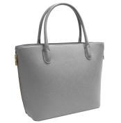 Vanessa & Melissa Women's Top-Handle Bag Erhältlich in Grau, Braun und Schwarz. ACHTUNG:, grey (Grey) - F1573GY
