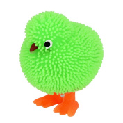 huichang 6 CM Novelty Flashing Puffer Cute Chickens Sensory Toy Activity and Play Ball