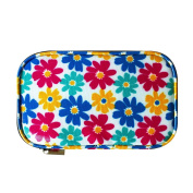 Crochet Hook Storage Bag,Floral Crochet Needles Case Organiser for Various Crochet Needles and Accessories