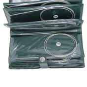 """Circular Needles,Sundlight Stainless Steel Circular Knitting Needles Set Case,11sizes 31.5"""""""