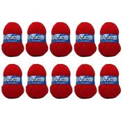 Distrifil – 10 x 50g balls of 0156 Azurite Distrifil Cheap 100% Acrylic Knitting Wool – 0156