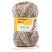 Regia 9801269 07385 Hand Knitting Yarn Wool – Stone 16 x 9 x 9 cm