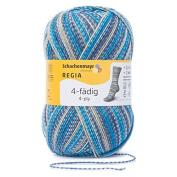 Regia 9801269 04898 Hand Knitting Yarn Wool – Water