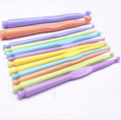 Liroyal multi-coloured crochet hook tool