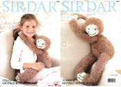 Sirdar 2476 Knitting Pattern Gordon The Sloth Toy in Sirdar Touch