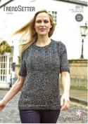 Stylecraft Knitting Pattern - Trendsetter Chunky Yarn - BROOK TUNIC - 8878
