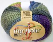 Euro Baby MAYPOLE Double Knitting Yarn / Wool 100g - 02 Berries and Zucchini