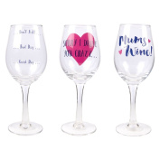 Mother's Day Wine Glass - Mums Wine