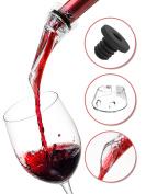 Wine Aerator - Red Wine Aerator Pourer - Wine Aerating Pourer - Red Wine Diffuser - Plastic Wine Aerator Diffuser - White Wine Aerator Acrylic - Small Wine Aerator Bottle - Mini Wine Aerator Spout