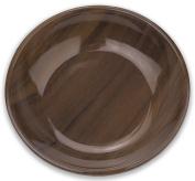 TarHong Acacia Wood Saucer Melamine Pet Bowl