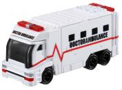 Takara Tomy TOMICA Hyper Rescue Drive Head Doctor Ambulance DHT-03 Mini Car