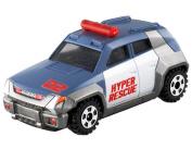 Takara Tomy TOMICA Hyper Rescue Drive Head Red Searcher DHT-02 Mini Car