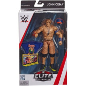 Wrestling WWE Mattel Elite Collection Series # 54 John Cena With Respect Earn It T-Shirt, Cap Clothing Accessories Wrestling Action Figure