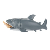 12CM Man-eating Shark Decompression Toys,Mamum 12cm Funny Toy Shark Squeeze Stress Ball Alternative Humorous Light Hearted New