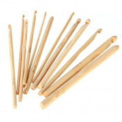 "Celine lin 12 sizes 6inch""(15CM) Bamboo Knitting Needles Crochet Hooks Knit Weave Yarn Crafts Home DIY Knitting Tools Weaving Tools"