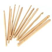 "Celine lin 12 sizes 6inch""(15CM) Bamboo Knitting Needles Crochet Hooks Knit Weave Yarn Crafts Home DIY Knitting Tools Weaving Tools"