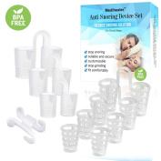 Effective and Safe Snore Relief - 7 Packs Anti Snoring Nose Vents for Natural and Comfortable Sleep,Nasal Dilator to Reduce Snoring,Different Sizes Nose Vents to Ease Breathing