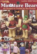 Miniature Bears Crochet Pattern Booklet - 6 Christmas Designs incl Angel & Fairy