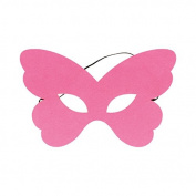 Felt Butterfly Mask – Pink Artémio