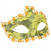 FEITONG Sexy Halloween Crown Lace Elegant Eye Face Mask Masquerade Ball Carnival Fancy Party