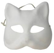 Artemio Cat Plaster Mask to Decorate