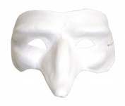 Artemio Long Hooked Nose Plaster Mask to Decorate