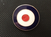 MODS TARGET ROUNDEL SCOOTER BOYS THE WHO ENAMEL PIN BADGE (PB12) BIGGER THAN OTHERS A GREAT GIFT