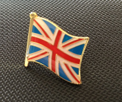 UNION JACK FLAG UNITED ENAMEL PIN BADGE (PB9) BIGGER THAN OTHERS A GREAT GIFT