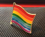 GAY PRIDE LGBT ENAMEL PIN BADGE (PB4) BIGGER THAN OTHERS A GREAT GIFT
