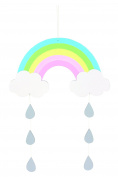 Wooden Mobile Rainbow