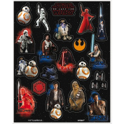 Star Wars The Last Jedi Stickers 4 Sheets of 20