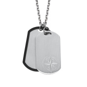 s.Oliver Men Stainless Steel Pendant Necklace - 2020896