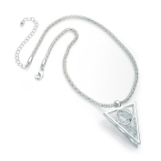 Gorgeous Silver colour CZ crystal chain pendant necklace   FREE UK DELIVERY   SAVE 50%