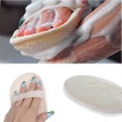 Hygienic Natural Loofah Bath Shower Sponge Body Scrubber Exfoliator Washing Pad For Bathroom